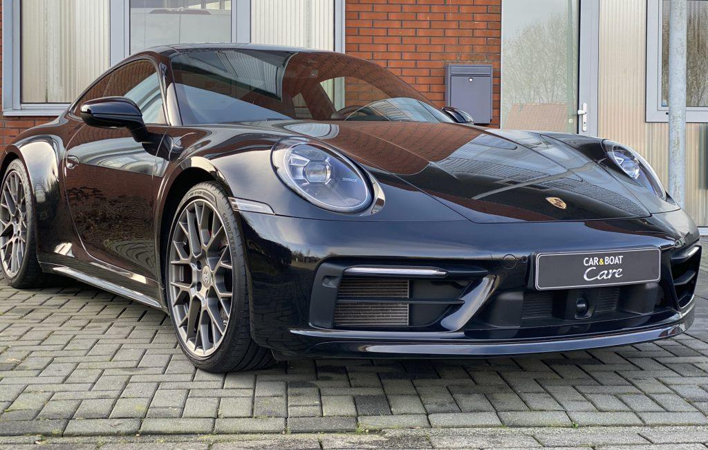 Porsche voorzien Bronze detailing